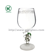 Single Wall Wine Glass by SGS (DIA7.5*19.5)