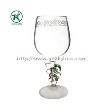 Single Wall Wine Glass by SGS (DIA7.5*19.5)