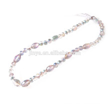 Glass Crystal Beaded Necklace
