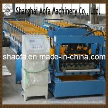 Máquina formadora de rolos de telha de aço colorida (AF-G828)