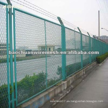 Galvanizado de metal expandido / valla de protección con un precio razonable en la tienda (fabricante)