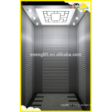 Ascenseur en acier inoxydable sans engrenage