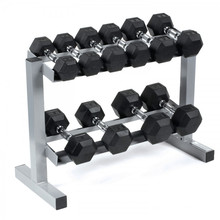 Fit Gym Equipment Hexagon Dumbbell Weight Lifting Rubber Coated Hex Dumbbells