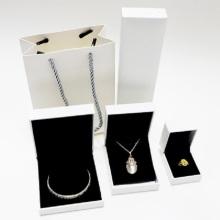 Изготовленная на заказ коробка упаковки ожерелья ювелирных изделий кожи PU