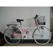 Bicicleta estándar Lady Speed Bicycle 6speed (CB-013)