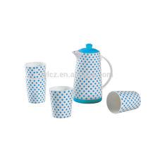 Beste Qualität Porzellan-Kaffee-Set