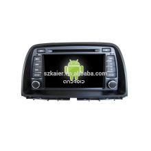 "8 ""reproductor de DVD del coche, fábrica directamente! Quad core, GPS, radio, bluetooth para Mazda CX-5"
