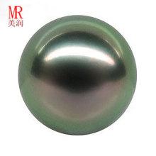 13mm runde schwarze Tahitian Loose Perle