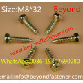 DIN7976 Hex Bolts Hex Head Tapping Screw