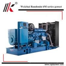 Weichai 360kw 400kw 500kw 600kw 720kw 800kw 900kw 1000kw generador diesel de Baudouin