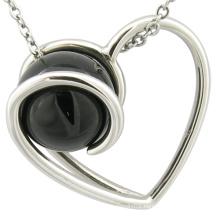 Christmas Gift Stainless Steel Pendant Heart Charm