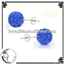 19MM Shamballa Ball Stud Earring