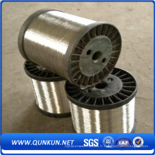 Fil de cravate d'acier inoxydable de calibre 16 d'usine de la Chine