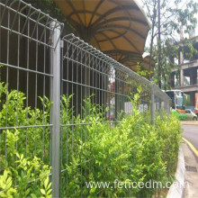 Welded Double Ring Wire Mesh Fence