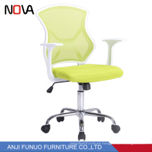 Sports Bright Color Swivel Plastic Mesh Back Office Lift Chair For Staff