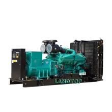 Abra o gerador 300KVA diesel silencioso com o motor CUMMINS