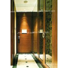 Painel de parede de folheado de madeira sólida para mobiliário de instalação hoteleira (EMT-F1212)