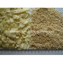Deshidratar las escamas y los gránulos del ajo 8-16mesh Grade a