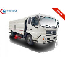 HOT Dongfeng lujoso 12cbm road barrendero camión