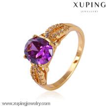 11442-Xuping ювелирные изделия женщин кольца драгоценный камень кольца