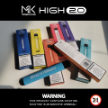 Maskking High2.0 Puff Bar Ecig Vape Pluma Desechable