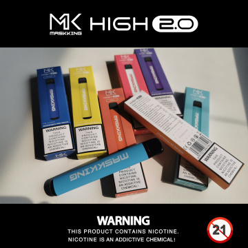 Maskking High2.0 450puffs Nic Salt Vape Jetable