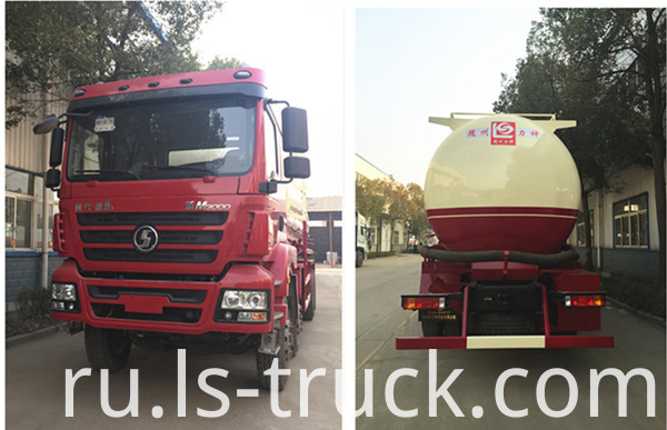 heavy duty bulk cement truck