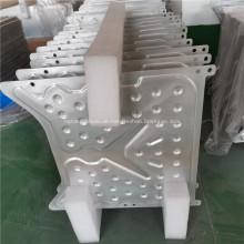 Kühlplatte aus Aluminium mit Flüssigkeitskühlung für Sonnenkollektoren
