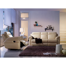 Living Room Genuine Leather Sofa (893)