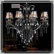 Gun noir unique suspension décorative lustre