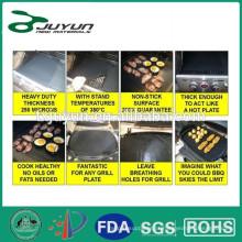 Folha de cozimento resistente ao calor antiaderente da fibra de vidro de PTFE, forro 40 * 60CM do forno