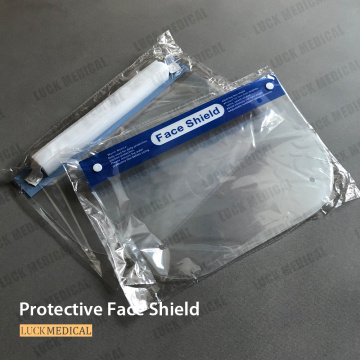 PPE Face Shield قناع شفاف مضاد للضباب