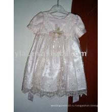 Пользовательские Оптовая платье девушки цветка AN1240