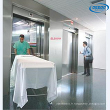 Ascenseur médical d'intérieur standard de lit d'hôpital de 1600kg