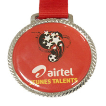 Großhandel gedruckten Fußball-Medaille (LM10050)