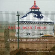 hebei anping KAIAN PVC coated galvanized wire fencing(30 years manufacturer)