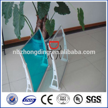 light weight harga awning polycarbonate panel for window