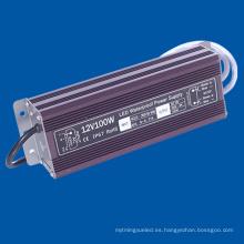 Fuente de alimentación del LED 12V de la lámpara del LED de 100W DC12V