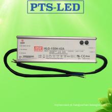 IP65 Alta PF LED Power Driver de abastecimento com Ce RoHS certificada