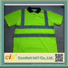 T-shirt do polo da segurança (ST03)