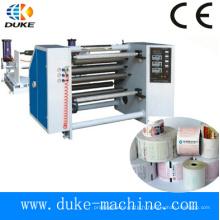 Machine automatique de découpage / rebobinage de papier