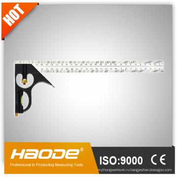 Инструмент для измерения / Анализатор / Алюминиевая комбинированная квадратная