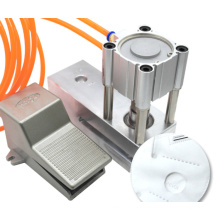 Low price making breathing respirator making factory n95 mask valve fitting machine N95 machine with breathing valve punching