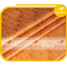 100% Coton Tissu Damassé Shadda Guinée Brocade Bazin Riche Vêtement Africain Tissu FEITEX