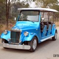 Jinghang 4 seat gas powered classic golf cart