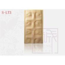 3-D Eye Brow Practice Sheet High Quality Permanent Makeup Skin