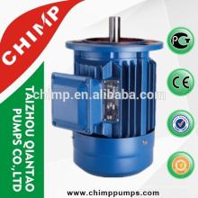 AC single/three phase 1HP Y2 electric motor for car