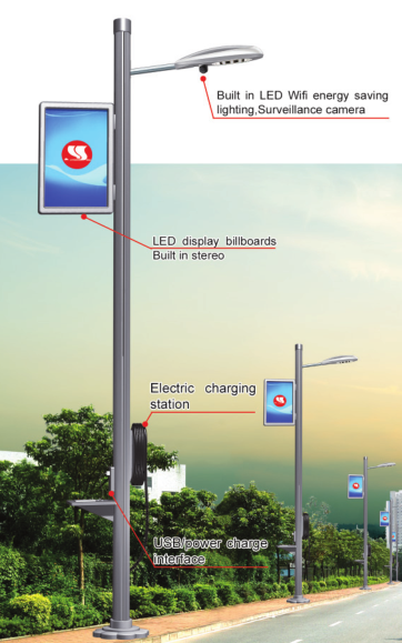 Intelligent street lamp