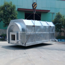Système de distillation sous vide d'huile de lubrification usée