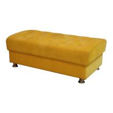 Banco amarillo para muebles de hotel